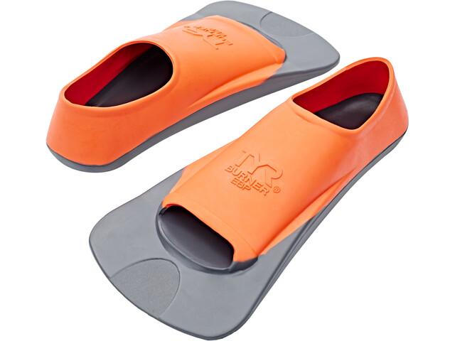 TYR Burner EBP Aletas, gris/naranja